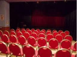 Vue sur la scène