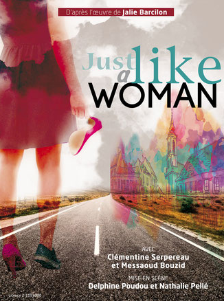 just like a woman affiche